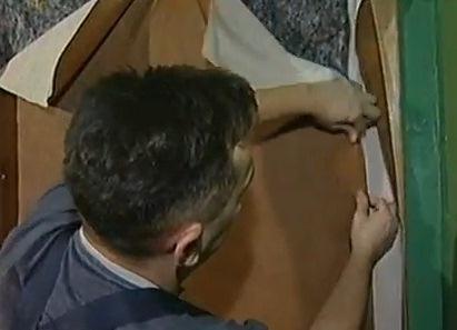 Jak tapicerować drzwi dermantin5