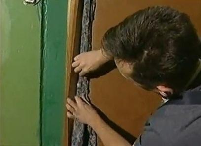 Jak tapicerować drzwi dermantin6