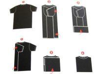 Jak prawidłowo złożyć koszulki 2