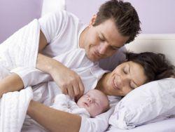 jak spać noworodka