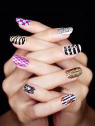 Как рисовать на ногтях красками