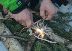 kako pravilno zapaliti vatru