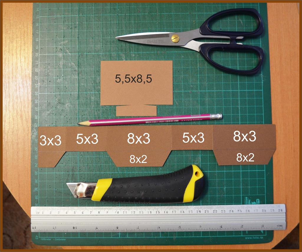 како направити 3Д картицу сопственим рукама 8