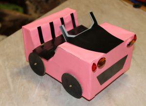 как да направите кола за barbie36