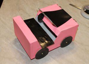 как да направите кола за barbie37