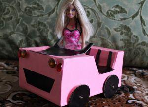 как да направите кола за barbie38