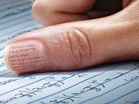 kako narediti goljufijo za izpit 9