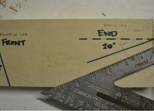 Jak vyrobit lehátko ze dřeva s vlastními rukama 2