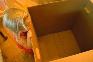 kako narediti hišo iz škatle2