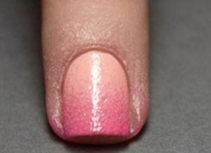 jak zrobić ombre manicure 12