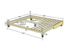 Kako narediti svoj podstavek pod svojo posteljo2