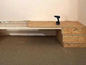 Kako narediti podij pod posteljo z lastnimi rokami8