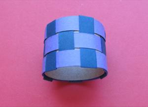 Како направити прстен од папира10