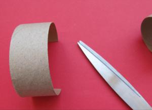 Како направити прстен од папира2