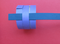 Како направити прстен од папира5