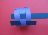 Како направити прстен од папира6
