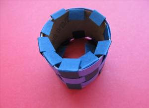 Како направити прстен од папира8