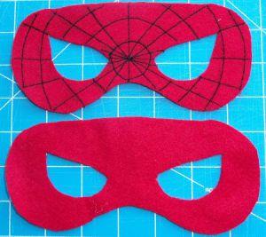 Jak vyrobit pavoukovou masku 10