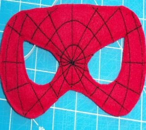 Kako napraviti spiderman mask12