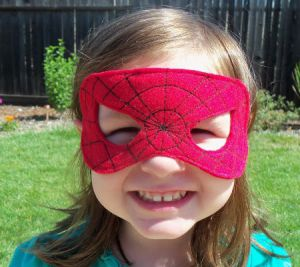 Kako napraviti Spiderman mask14