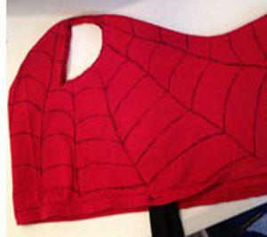 Jak zrobić maskę Spiderman22