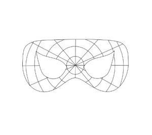 Jak zrobić Maskę Spidermana6