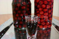 likier wiśniowy na alkohol
