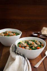 Kako napraviti meso od piletine mljevena govedina za juhu