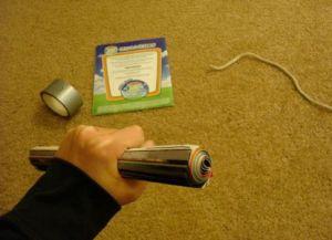 jak zrobić nunchuck ze zdjęcia papierowego 10