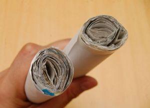 jak zrobić nunchuck z papieru zdjęcie 5