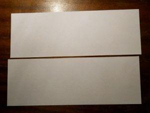 jak zrobić papierowy bumerang 1