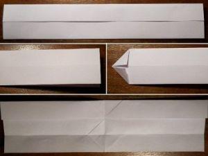 jak zrobić papierowy bumerang 2