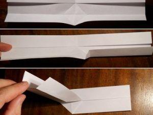 jak zrobić papierowy bumerang 3