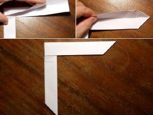 jak zrobić papierowy bumerang 7