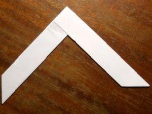 jak zrobić papierowy bumerang 8