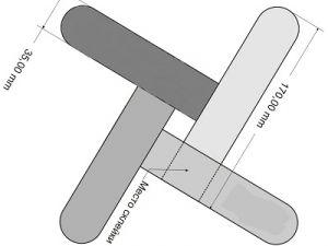 jak zrobić papierowy bumerang 9