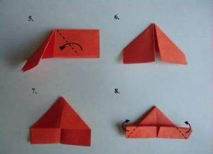 jak zrobić papierową stokrotkę 20