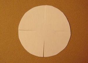 jak zrobić papierowy rumianek 2