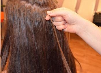 Како уклонити продужење косе 3