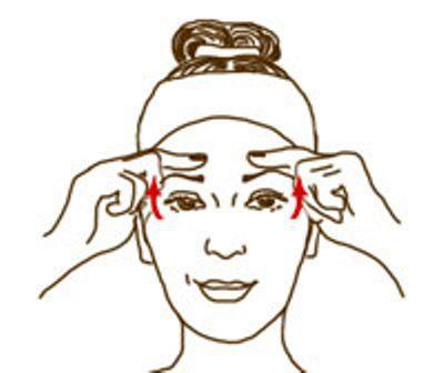 jak wygładzać zmarszczki na twarzy na czole1