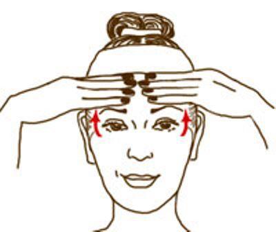 jak wygładzać zmarszczki na twarzy na czole2