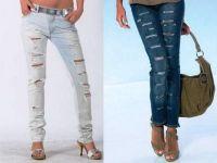 jak pięknie rozerwać dżinsy 7