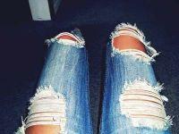 jak pięknie rozerwać dżinsy 8