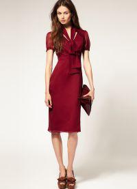 как да вратовръзка лък на рокля 2