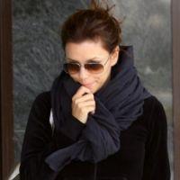 Како везати шал на капуту 3