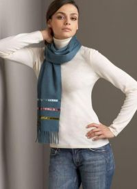 как да носите шал 1