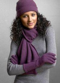 как да носите шал 3