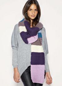 как да носите шал 6
