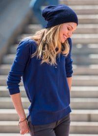 как да носите шапка на момичета 5