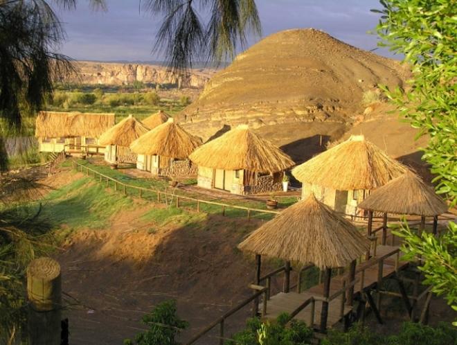 Деревня бушменов Grashoek